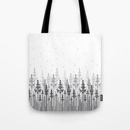 White field Tote Bag