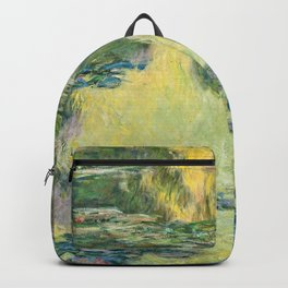 Claude Monet - Water Lilies 1907 Backpack