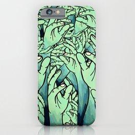 Zombie hands iPhone Case