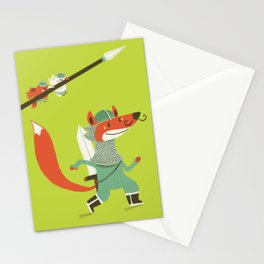 Fox knight Stationery Cards