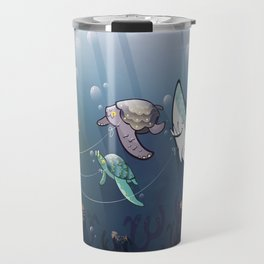 Looking for new friends Travel Mug
