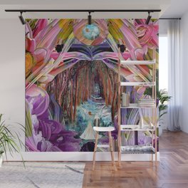 Fairy and Unicorn, Fantasy Forest Wall Mural