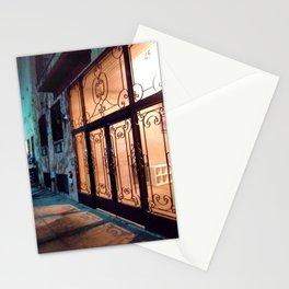 Illuminated Bushwick Door (2017), from Roberta Winters Photography Stationery Cards