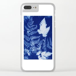 Cyanotype No. 3 Clear iPhone Case