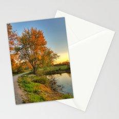 October Walk 1 Stationery Cards