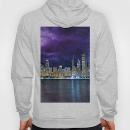 Spacey Chicago Skyline Hoody