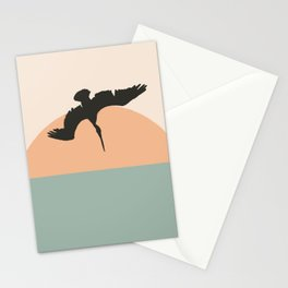 Diver Two Stationery Cards