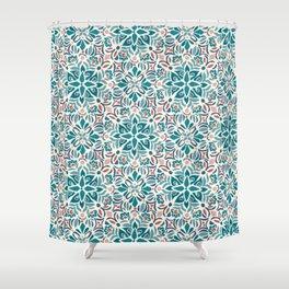 Kerala Color Shower Curtain