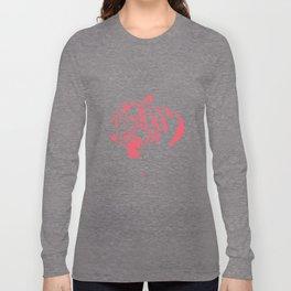 Pink tiger Long Sleeve T-shirt