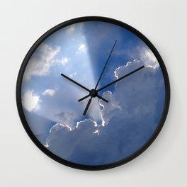 Shining Through Wall Clock