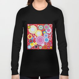 Pop Art Colour Circles Long Sleeve T-shirt