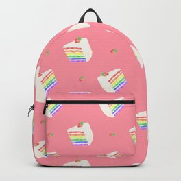 Watercolor Rainbow Cake Backpack