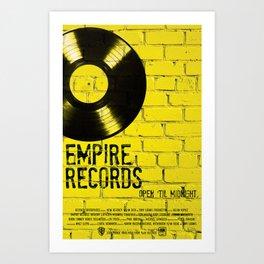 Empire Records Art Print