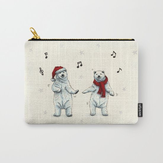 The polar bears wish you a Merry Christmas Carry-All Pouch