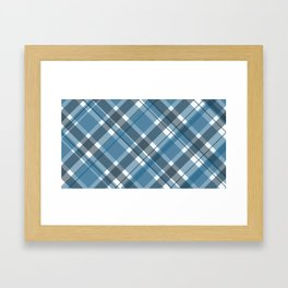 2017 Plaid Swatch Set Pattern Framed Art Print