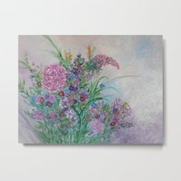 A Bouquet of Blooms for You Metal Print