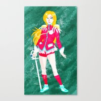 utena Canvas Prints featuring Revolutionary Girl Utena by lolcilc