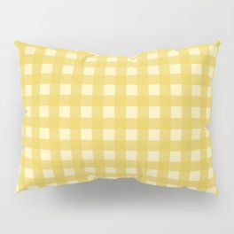 Mustard Yellow Buffalo Checks Pillow Sham