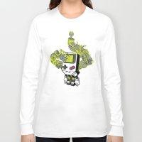 pixel Long Sleeve T-shirts featuring Pixel Dreams by MEKAZOO