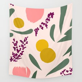 Abstract Garden Wall Tapestry
