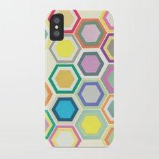 Honeycomb Layers II iPhone X Slim Case