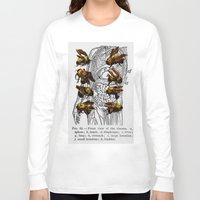 bees Long Sleeve T-shirts featuring bees by Ashley Moye