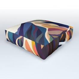 Mountains original Outdoor Floor Cushion