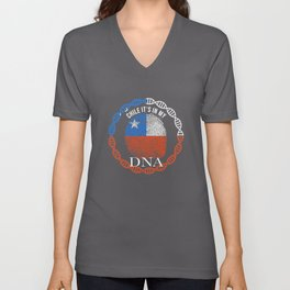 Chile Its In My DNA Unisex V-Neck