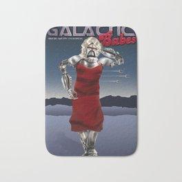 Galactic Cover Girl Bath Mat