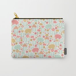 Spring Hedgehog Forest Carry-All Pouch
