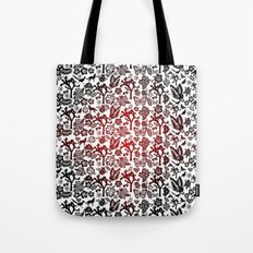 Joshua Tree Heart RED by CREYES Tote Bag