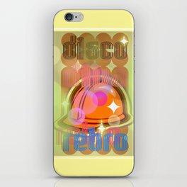 Disco Retro iPhone Skin