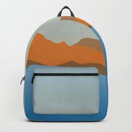 Summer seascape Backpack