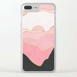 Minimal Landscape 02 Clear iPhone Case