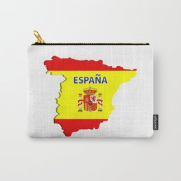 Spain map Carry-All Pouch