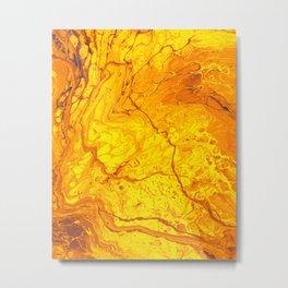 Lava is Lit Metal Print