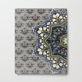 Ornamental Pleasures w/ Trompe L'oeil Metal Print