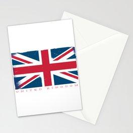 United Kingdom Flag Stationery Cards