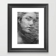 Self Reflection Framed Art Print