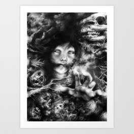 The Follower Art Print