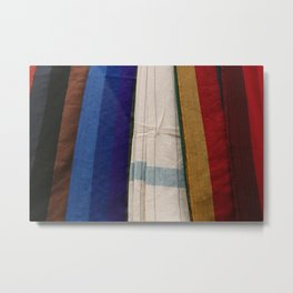 Hammocks in Numerous Colors Metal Print