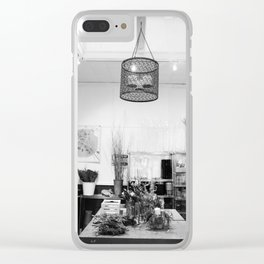 The Florist's Workshop Clear iPhone Case