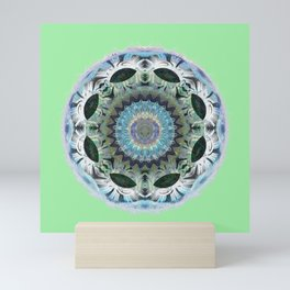 Orb of the Land with no Language Mandala Mini Art Print
