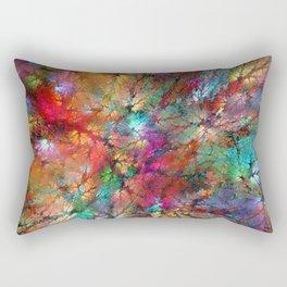 Tree Crowns Rectangular Pillow