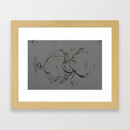 I See Them as a Double Framed Art Print