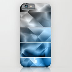Midnight Satin (Five Panels Series) Slim Case iPhone 6s