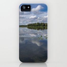 Tranquility At Its Best 2 - Alaska iPhone Case