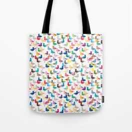 We're All the Same Seagull (repeat) Tote Bag