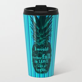 I would rather fall in love with a vegan - Carlton Lassiter quotes Travel Mug