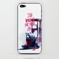 Waiting for you call iPhone & iPod Skin